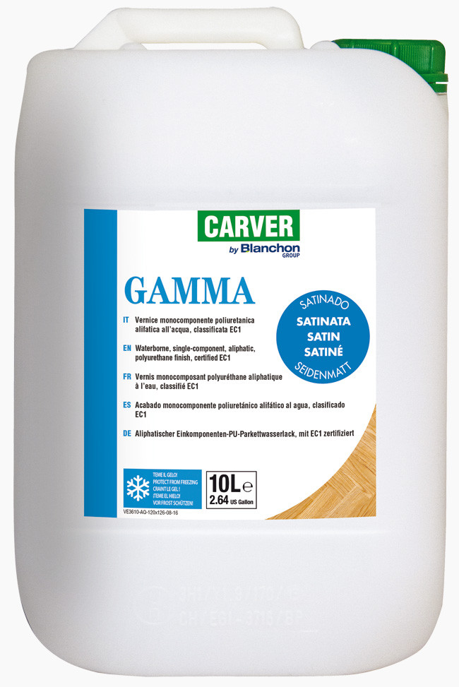 Water-based one-component finish GAMMA