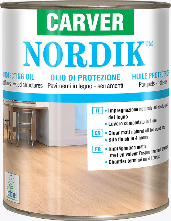 Waterborne protecting oil NORDIK