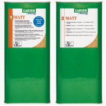 Solvent-based two-component finish MATT